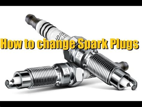 how do you change spark plugs on a 1993 land rover range rover how to change spark plugs ngk iridium youtube