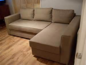 Ikea Manstad Corner Sofa Bed With Storage Furniture Delivery From Camberley To Guildford Gu21 110246