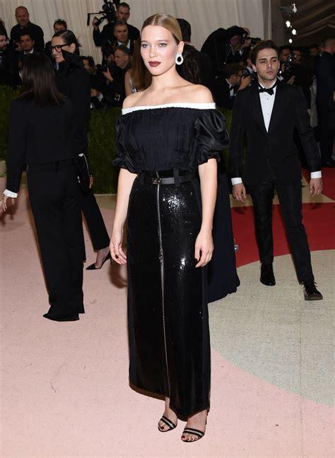 lea seydoux new york l 233 a seydoux met costume institute gala 2016 in new york