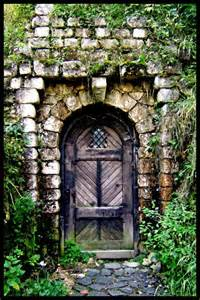 Garden Doors Garden Door Bran Castle Romania Entry Ways Thresholds
