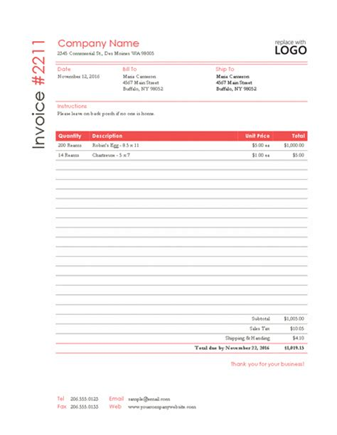 consultant invoice word templates free word templates ms