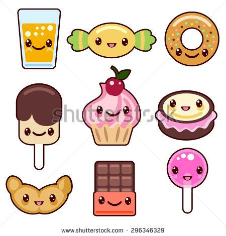 imagenes kawaii pdf kawaii food stock images royalty free images vectors