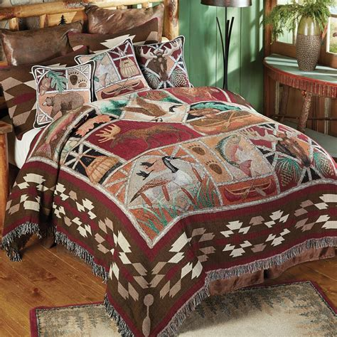 black coverlet twin wildlife tapestry coverlet twin