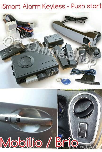 Modul Alarm Xenia baru smart alarm push start button keyless entry