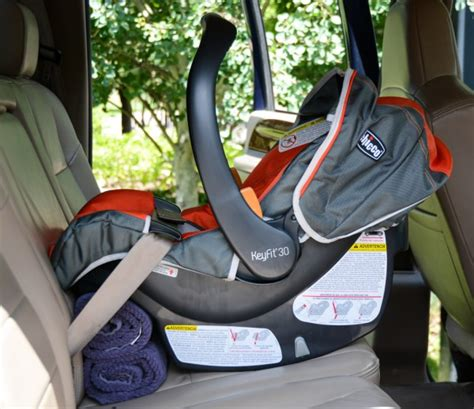 using car seat without base chicco keyfit 30 review babygearlab
