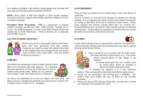 Parent Letter Lice parent informationbooklet