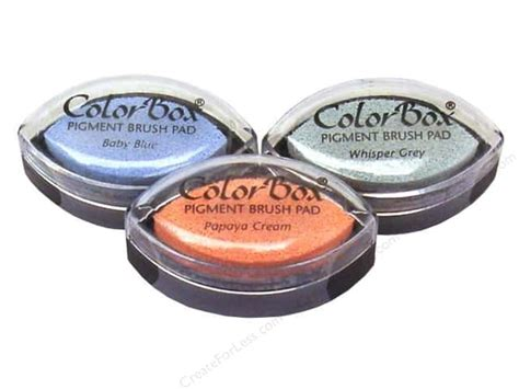 color box ink colorbox pigment ink pads createforless