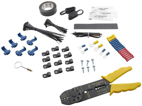 deluxe trailer wiring installation kit
