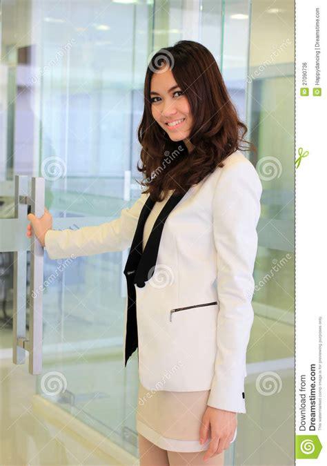 Jaket Catton Door business opening his jacket like vector