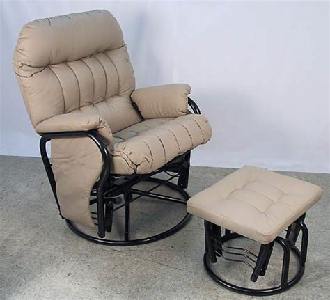 swivel glider rocker chair with ottoman giovanni rizzo 360 degrees swivel glider rocker chair