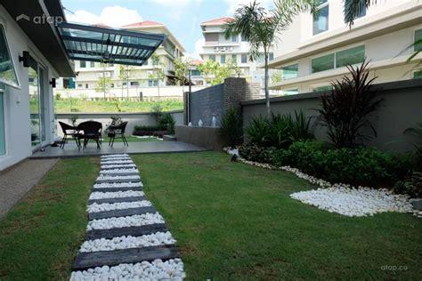 Garden House Design Ideas Malaysia by Garden Exterior Semi Detached Design Ideas Photos