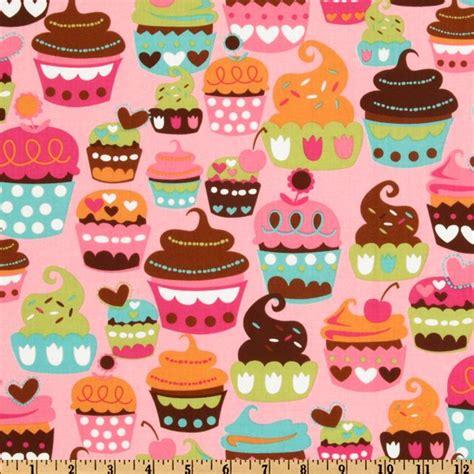 michael miller sweet treats pink discount designer