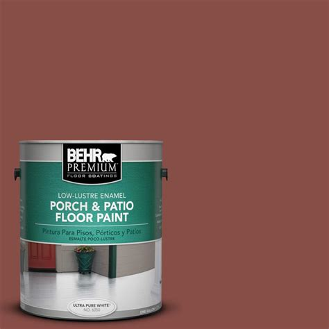behr premium 1 gal ppu2 18 spice low lustre porch and
