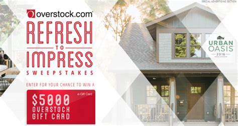 Www Hgtv Sweepstakes Com - hgtv can help you refresh to impress with 5 000