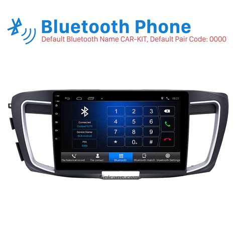 car stereo honda accord 10 1 inch hd touch screen android 6 0 car stereo for 2016