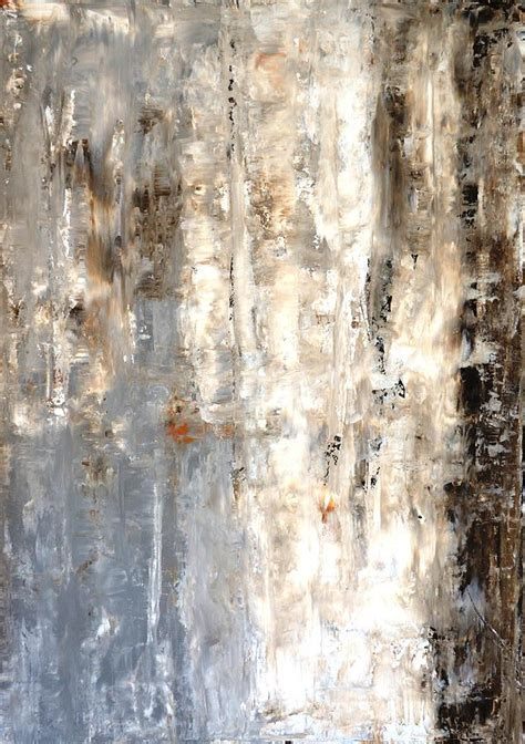 painting greys insightful grey and brown abstract painting painting by carollynn tice
