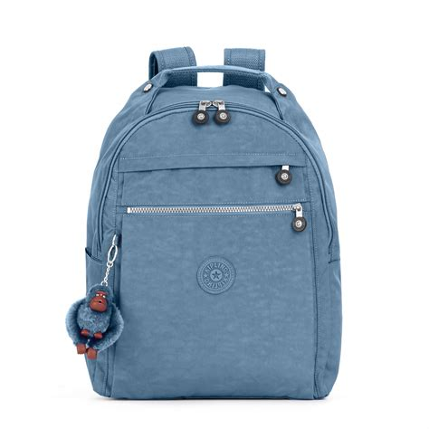 kipling printed medium laptop backpack ebay