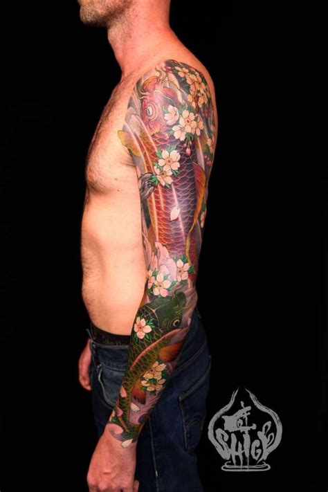 30 best images about shige yellow blaze tattoo on shige yellow blaze koi sleeve tattoos pinterest