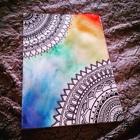 imagenes para dibujar en lienzo faciles acuarelas on tumblr