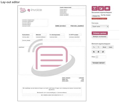 picture layout editor online layout editor q invoice nl help