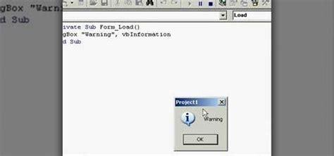 tutorialspoint vb 6 0 message box vba code for bing images