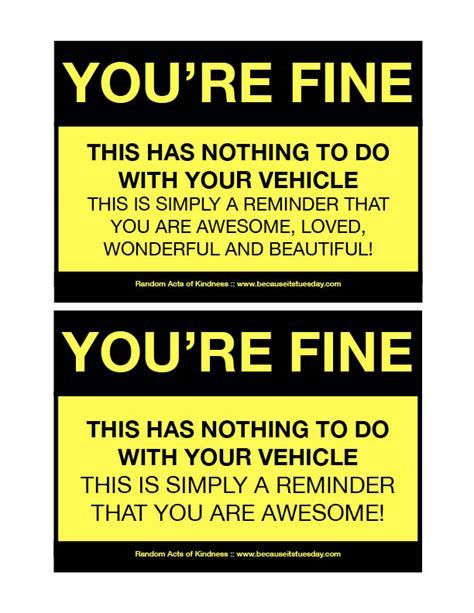 printable joke tickets free fake parking ticket template printable online