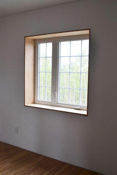 modern window trim ana white easy window trim diy projects