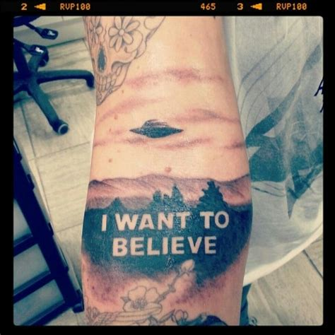 i want to believe tattoo 26 best images about x files on dashboards