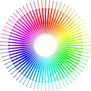 color images color wheel