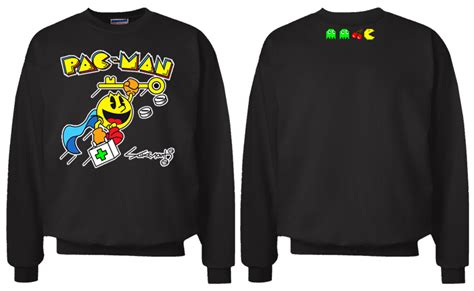 Sweater Pacman 2 smoke a lot records 187 pac crew sweater