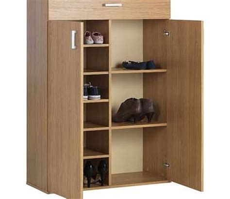 argos shoe cupboard storage argos venetia shoe storage cabinet oak effect