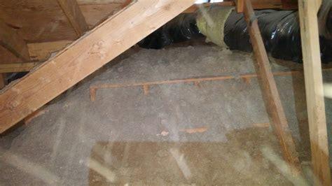 spray foam insulation problems fixing various problems with attic insulation insulation diy chatroom home improvement forum