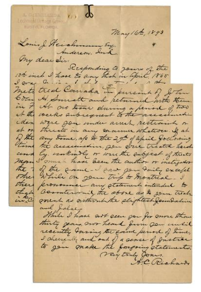 abraham lincoln letter to principal lot detail eyewitness letter to president abraham