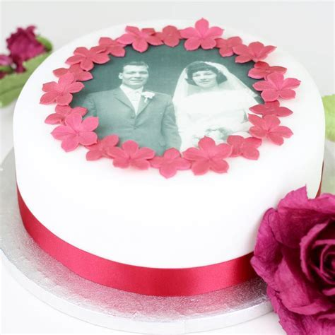 personalised wedding anniversary cake decorating kit by