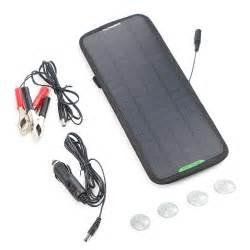 Motorrad Batterie Mit Solar Laden by 12v 5w Batterieladeger 228 T Autobatterie Ladeger 228 T Solarmodul