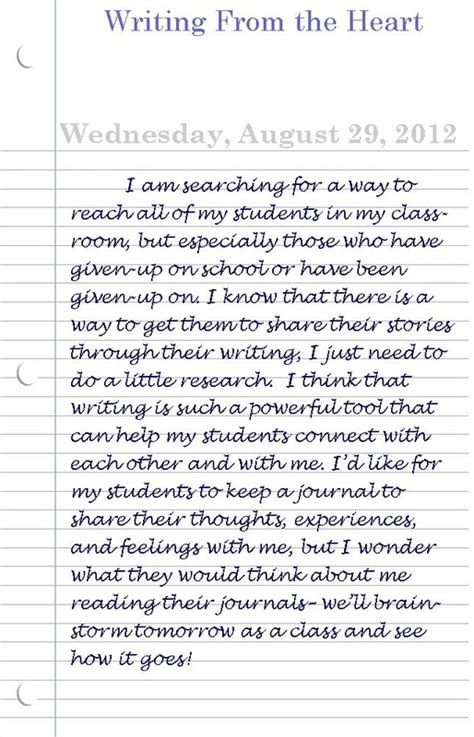 of a school i am a student with diary entries writing from the Diar