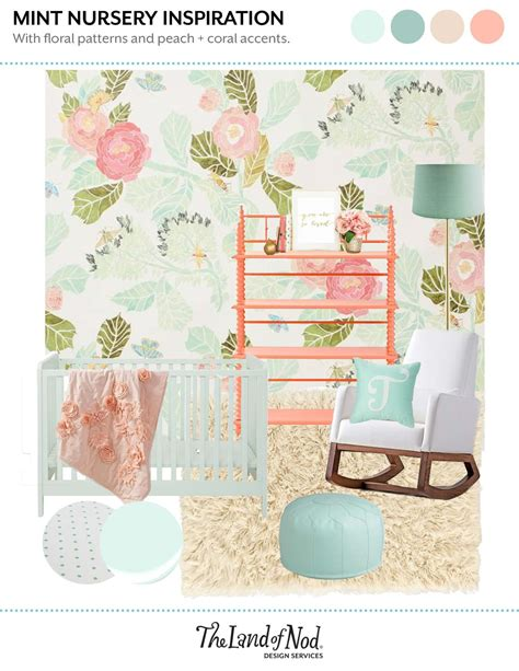 lilac mint big girls room honest to nod mint nursery inspiration for baby girl honest to nod