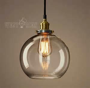 retro glass pendant l vintage open ceiling