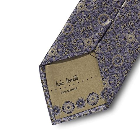 gold pattern ties lilac and gold patterned tie in precious silk satin by