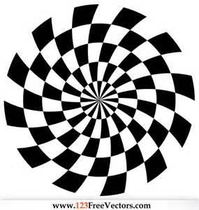 Halloween Ornaments Spiral Optical Illusion Vector Download Free Vector Art Free Vectors