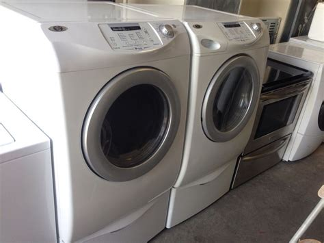 maytag neptune washer 5931 maytag neptune washer dryer set front loading white with pedestal ebay