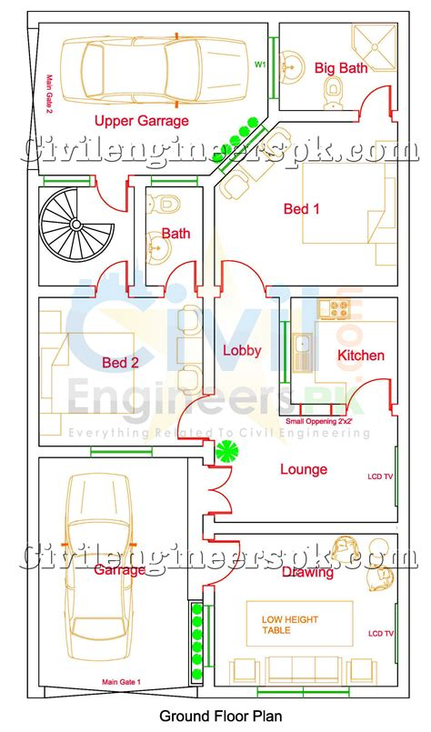 home design map free 5 marla house map designs sles house and home design