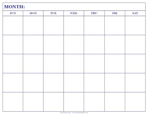 blank bingo card template blank calendar to print printable calendar template 2018