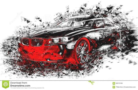 images of modern cars modern abstract car stock illustration image 58373180