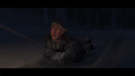 frozen film wolf scene frozen wolf chase scene movie scenes movie clips and