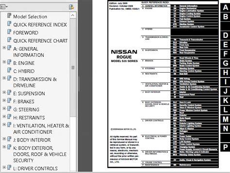 car service manuals pdf 2010 nissan rogue regenerative braking nissan rogue s35 2008 2011 service manual pdf