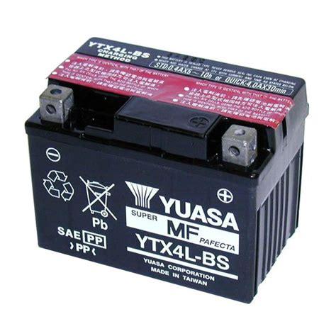 Baterai Yuasa Untuk Motor bater 237 a yuasa ytx4l bs agm abierta con pack de 225 cido tipo