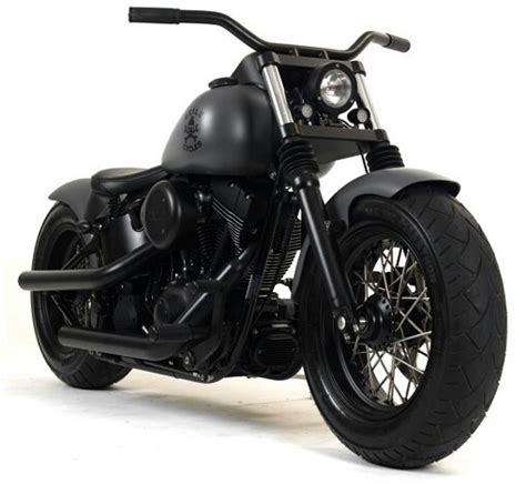 flat black motocross matte black motorcycle custom all black everything
