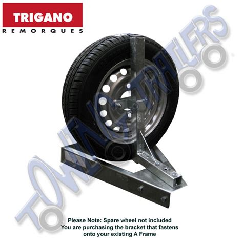 boat trailer spare wheel holder trigano spare wheel holder for multy chassis trailer