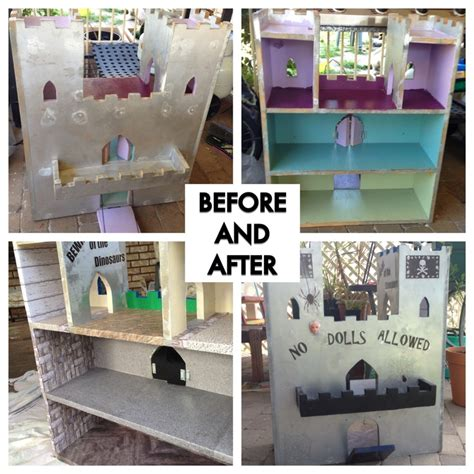 pinterest doll house doll house to dinosaur castle renovation diy pinterest doll houses dolls and diy dolls